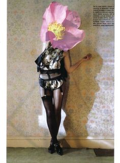 Tim Walker photography. Prop idea representing a blooming of a new type of life.