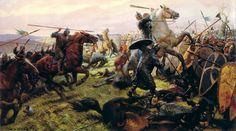 Tom Lovell  -  Battle of Hastings