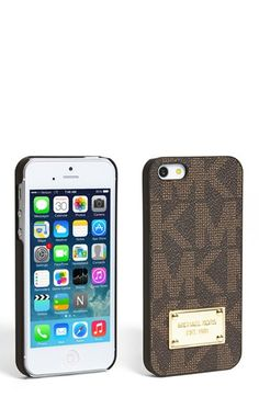 MICHAEL Michael Kors iPhone 5 Case available at nordstroms. I need this!!