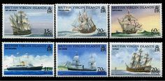Virgin Islands Seafaring & Exploration Ships Stamps Love Mail, Seafarer, First Day Covers, My Themes, British Virgin Islands, Stamp Collecting, Mail Art, All Over The World, Postage Stamps