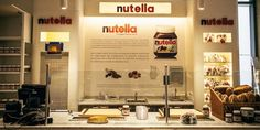 Nutella bar at Eataly Chicago