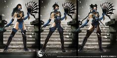Kitana Concept from Mortal Kombat X