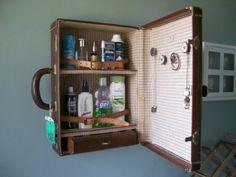Suitace turned medicine cabinet