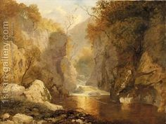 The Fairy Glen, Betswy Coed by James Baker Pyne