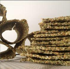 Low Carb Omega-3-Protein-Cracker Rohtopia Rezept