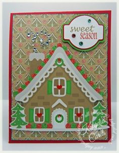 Sweet Season|Christmas|Miss Kate Cuttables|Pop Up Panel Card|Silhouette|Stampin' Up 1