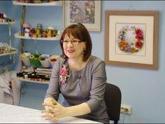 Видео сюжет о Екатерине Кубрак, художнице, руководителе студии вышивки лентами. - YouTube