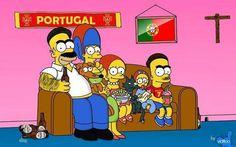 Os Simpson's à Portuguesa hahahaha