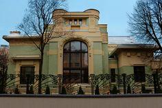 Особняк Дерожинской. Art Nouveau