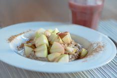 Ein warmes Frühstück für einen guten Start in den Tag. Ideal auch für die Resteverwertung. Brunch, Vitamin D, Nutrition, Soy Milk, Rolled Oats, Recipies, Poppy, Berries