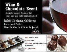 Wine & Chocolate Event