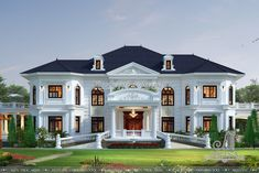 Royal House, Home Fashion, House Design, Mansions, House Styles, Home Decor, Houses, Manor Houses, Villas