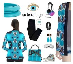 """""""Cute gardigan by Annabellerockz :)"""" by annabellerockz ❤ liked on Polyvore featuring J Brand, Fitbit, Celebrate Shop, Converse, Les Petits Joueurs, Lucky Brand, ZENZii, Bounkit, outfit and Blue"""