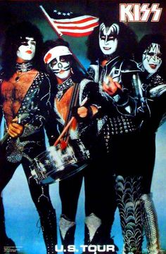 Kiss 1976 #KISS - used to have this poster. .......