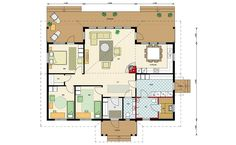 Kimara Sauna House, House Plans, Floor Plans, How To Plan, Architecture, Houses, Ideas, Blue Prints, House Construction Plan