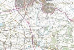 Chippenham, Lacock & the Kingtons - back of the map