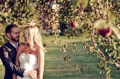apple orchard wedding <3