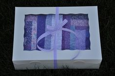 Giving quilts as gifts! Great idea!