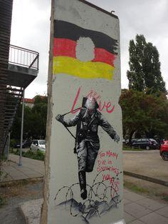Hans Conrad Schumann, taking a leap of faith. Berlin, Germany