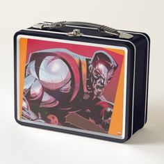 X-Men | Colossus Rage Metal Lunch Box Metal Lunch Box, X Men, Comic Books Art, Book Art, Rage, Bend Over, Christmas Gifts For Kids, Comics, Products