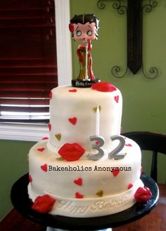 Betty Boop Cake  By twilightzonejude on CakeCentral.com