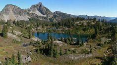 Alpine Lakes - a 414,161 acre wilderness area in the North Cascades mountain range - Washington state, USA