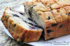 Blueberry Banana Bread...so simple, so moist and so delicious