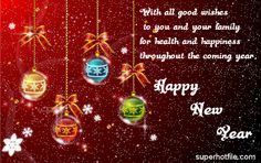 To,  All my friends Happy New Year 2014