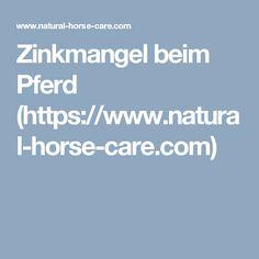 Zinkmangel beim Pferd (https://www.natural-horse-care.com)