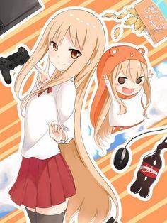 She kinda looks like Taiga from toradora! Kawaii Anime, Loli Kawaii, Chica Anime Manga, Kawaii Girl, Anime Art, Echii Anime, Lolis Neko, Himouto Umaru Chan, Anime Stickers