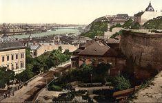 Buda Castle, Austro Hungarian, Old Postcards, Old Photos, Paris Skyline, Empire, The Past, Washington, Places