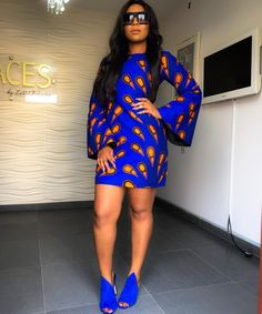 Eye-Popping & Show-Stopping Ankara Styles You've Never Seen Before - Wedding Digest Naija African Print Dresses, African Fashion Dresses, African Attire, African Wear, African Women, African Dress, Ankara Fashion, African Outfits, African Prints