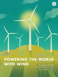 There are more than 18,000 GE wind turbines around the globe.