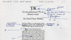 David Foster Wallace on the web