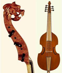 string instrument - Viola da Gamba--NEW
