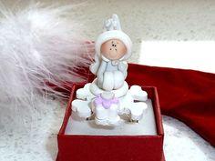 Japanese Kawaii Ring  Miniature Winter by OishisoBitsAndBites, $14.00