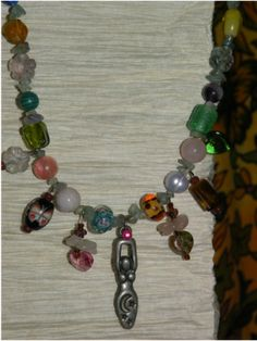 Birth beads necklace - birth empowerment, mother blessing
