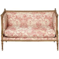 Late 18th Century Louis XVI Daybed   From a unique collection of antique and modern daybeds at https://www.1stdibs.com/furniture/seating/day-beds/