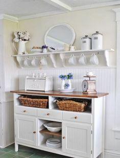 Кухня в деревенском стиле: 5 идей для летнего интерьера и 15 красивых примеров