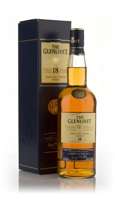 Glenlivet 18 Year Old--Highland Region--Smooth and wonderfully balanced with a burst of spices and bitter oranges that has a long and lingering finish with hints of oak and spice. Come sample this whisky at Riverwood Winery.