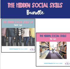 The Hidden Social Skills Bundle by Primarily Au-Some | TpT