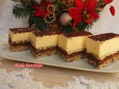 Hungarian Recipes, Sweet And Salty, Tiramisu, Cheesecake, Good Food, Food And Drink, Cooking Recipes, Pudding, Baking