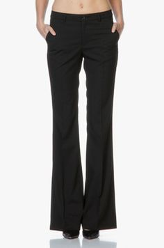 Afbeeldingsresultaat voor chique zwarte broek