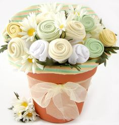 Baby Blossom Clothing Bouquet Gift