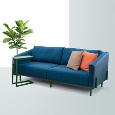 Outdoor Sofa, Outdoor Furniture, Outdoor Decor, Ral Colours, Corner Unit, Soft Seating, Framing Materials, Sustainable Design, Recycled Materials