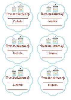 More free labels by cuteminkin