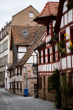 Fuerther Altstadt - Old Town in Fürth, Germany