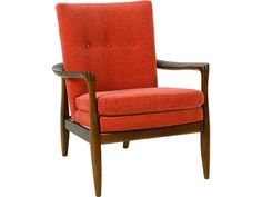 Shop for the Rowe Chairs and Accents Harris Wood Frame Accent Chair at Belfort Furniture - Your Washington DC, Northern Virginia, Maryland and Fairfax VA Furniture & Mattress Store