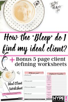 How the *BLEEP* Do I Find my Ideal Client? Find Your Next Client on Social Media — Hype Social Strategies