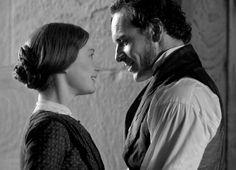Mia Wasikowska (Jane Eyre) & Michael Fassbender (Mr. Edward Fairfax Rochester) - Jane Eyre (2011) #charlottebronte #caryfukunaga
